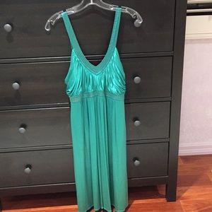 Green BCBG MaxAzria Dress